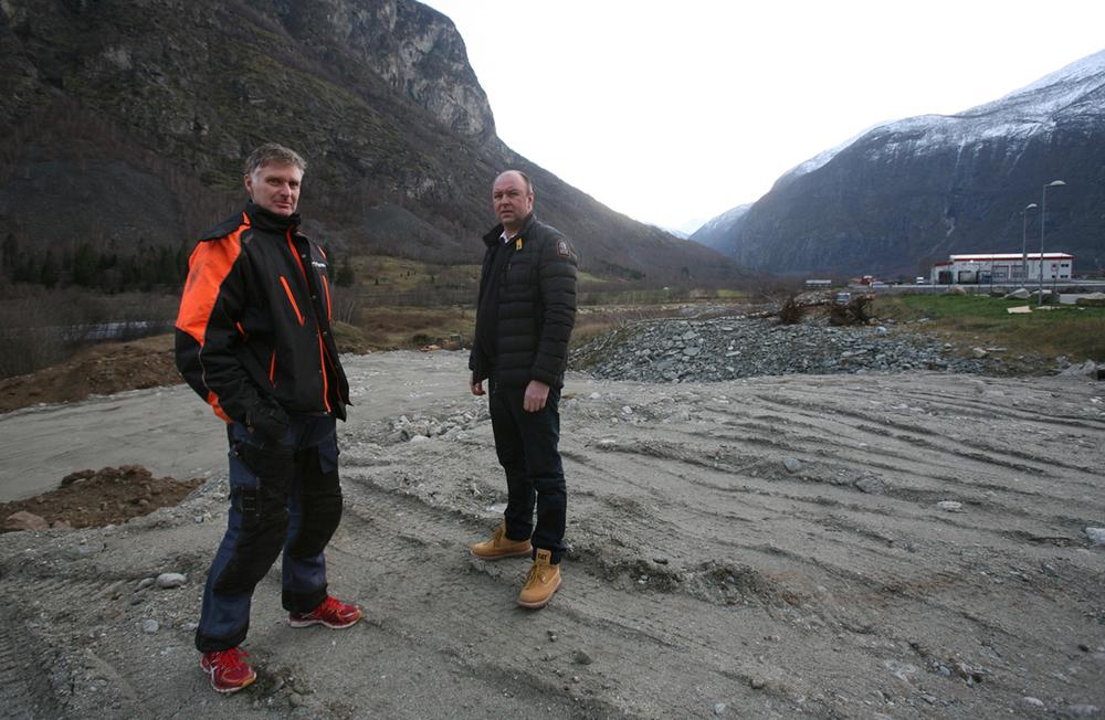 Terje Lokreim og Jan Turlid satsar på Håbakken. Foto: Odd Helge Brugrand
