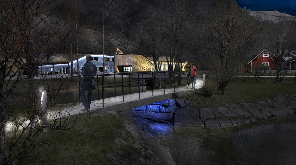 Sogn Kunstsenter, Lærdal Kulturhus og Norsk Villakssenter