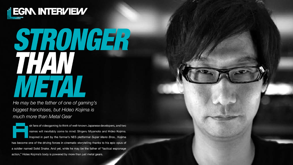 EGM Kojima Interview 001