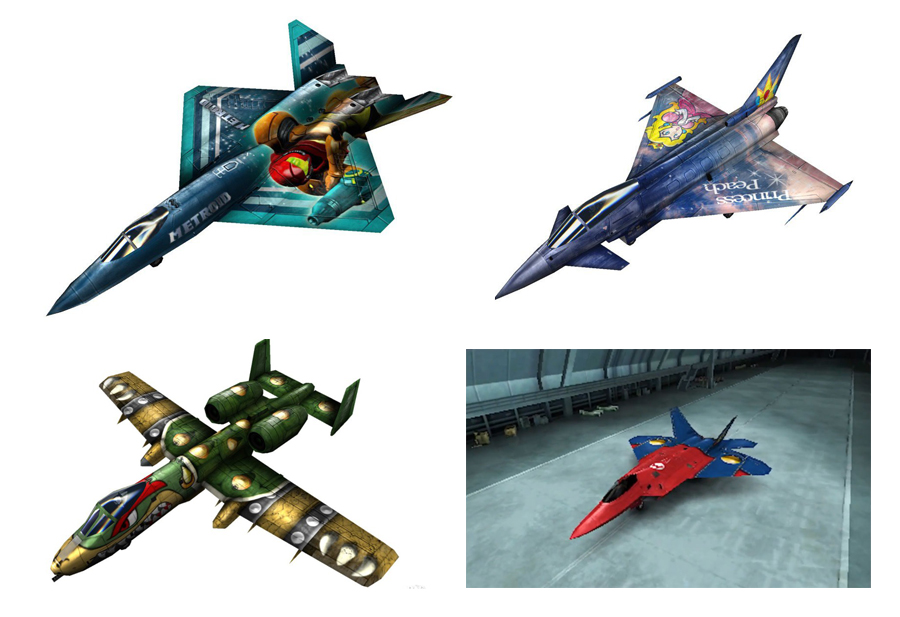 I always wanted overalls on my F-22. (Image copyright Nintendo  ©)