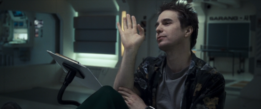 Sam Rockwell acts his little heart out.
