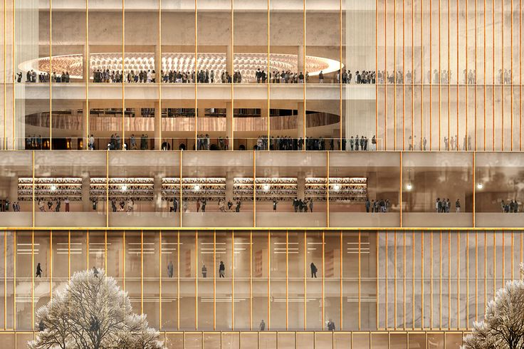 David Chipperfield Architects, NobelHuset Stockholm Sweden