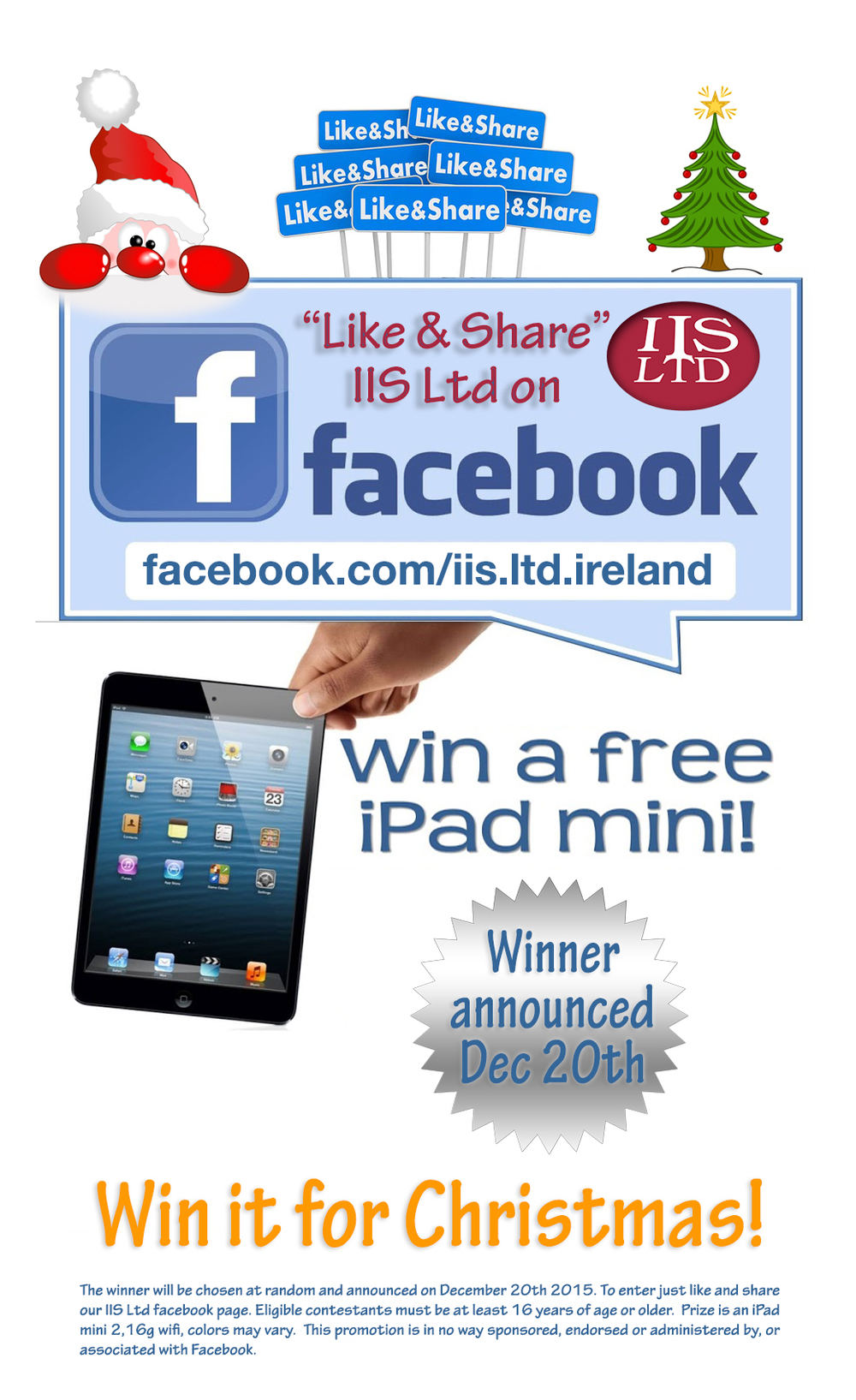 IIS Ltd Facebook Competition