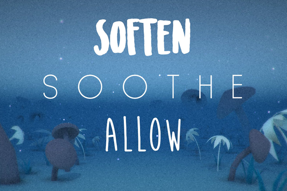 Soften Soothe Allow - Adrian Tosello PC 2017