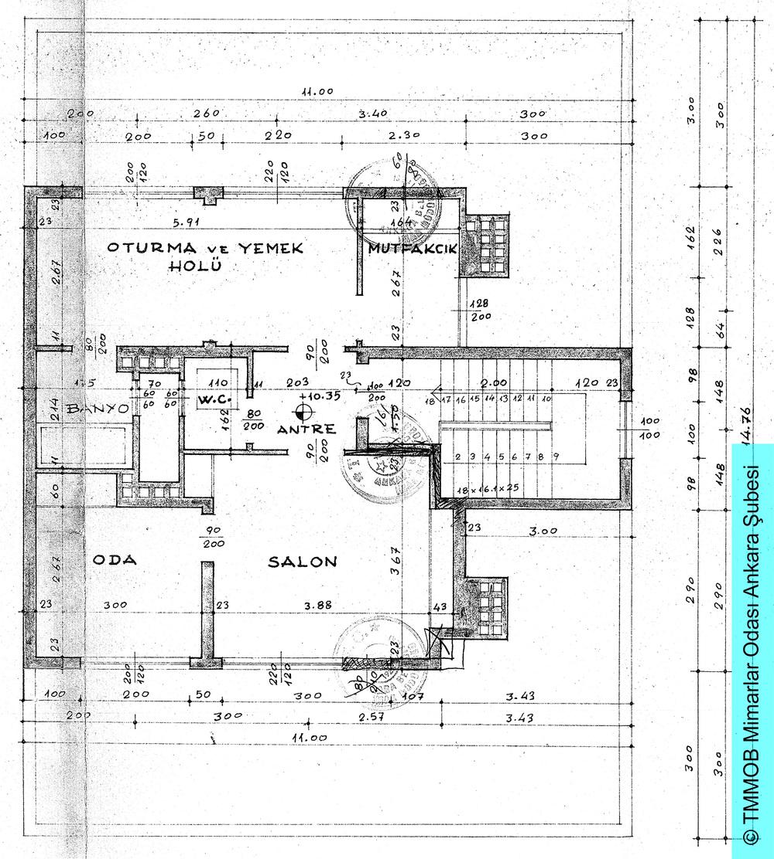 Resim 5: Çatı Katı Planı