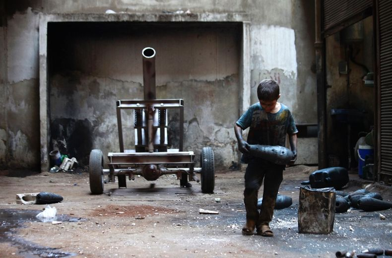 Fotoğraf: Hamid Khatib, Suriye 2013
