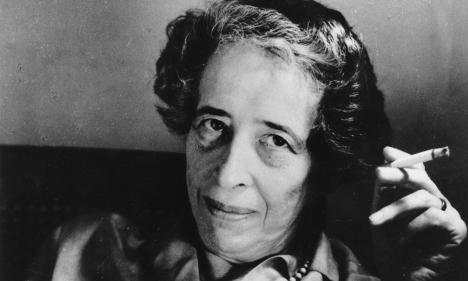 Hannah Arendt, 14 Ekim 1906 – 4 Aralık 1975.