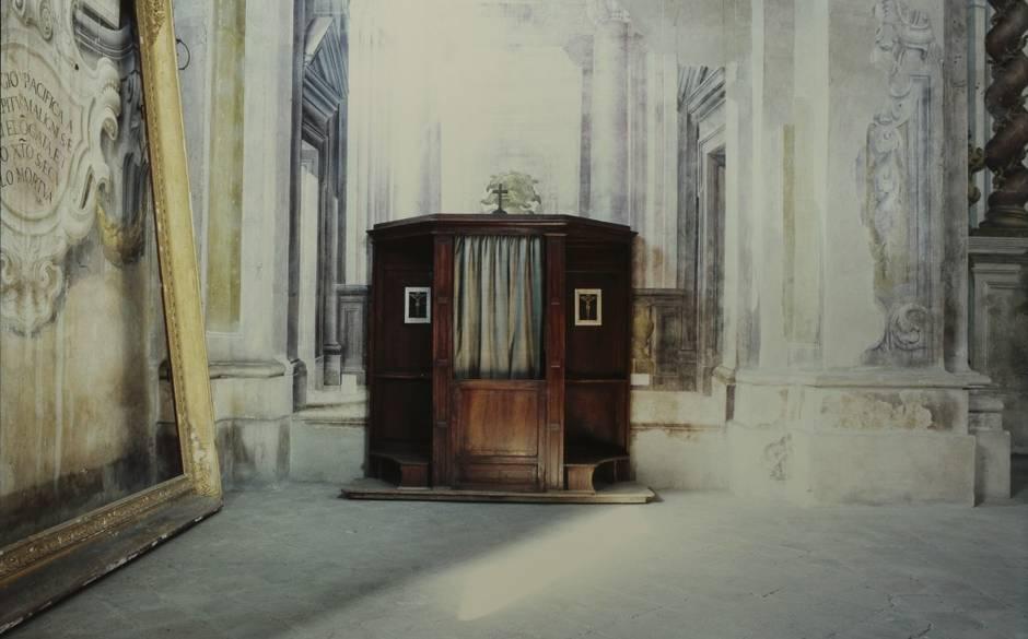 Parma, Interno della Certosa, Luigi Ghirri 1987,