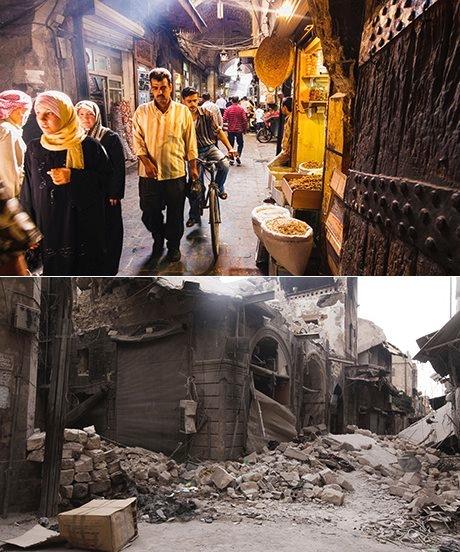 Halep, Antakya Kapısı Çarşısı, 2009 ve 2011…