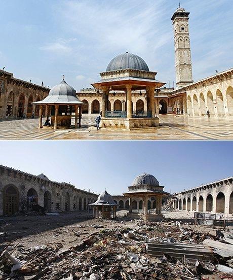 Halep Emevi Camisi, 2012 ve 2013…