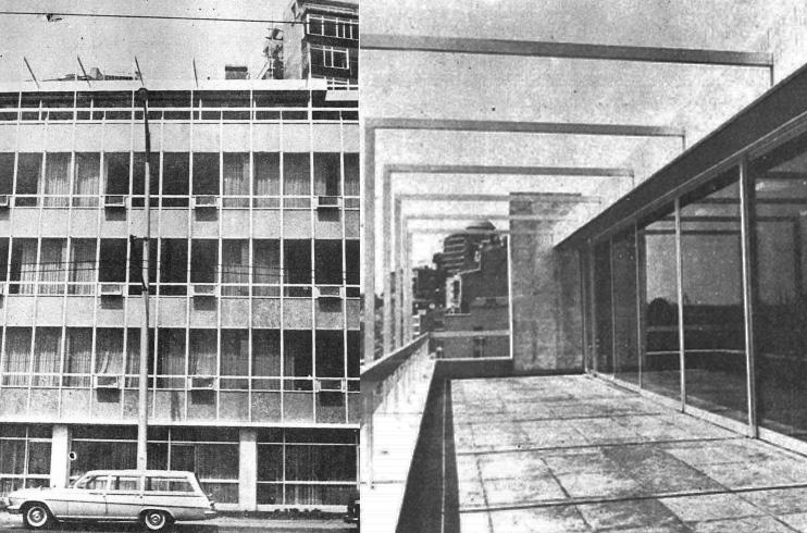 Resim 8: İş Bankası Kabataş Hizmet Binası ve metal profilleri