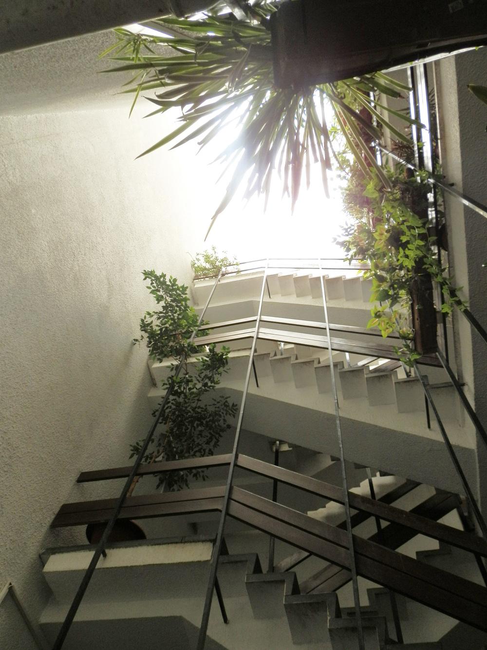 Resim 6: Galeri boşluğu ve tepe-penceresi