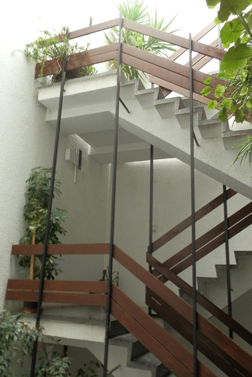 Resim 7: Galeri boşluğundaki metal profille