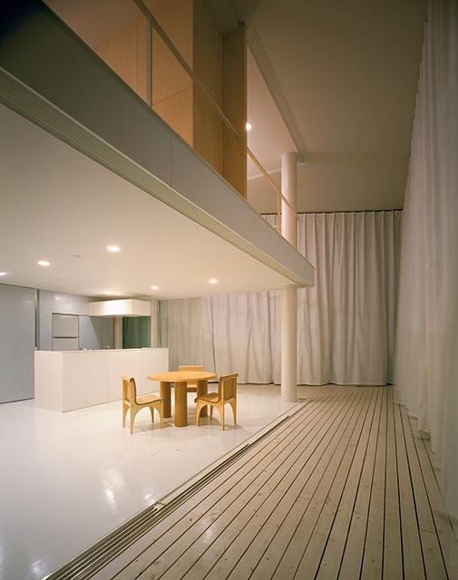 PerdeDuvar Evi,Tokyo,Japonya,1995    Fotoğraf:Hiroiki Hirai