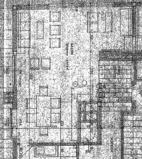 Resim 10:Başkent Apartmanının salonu ve Amerikan bar