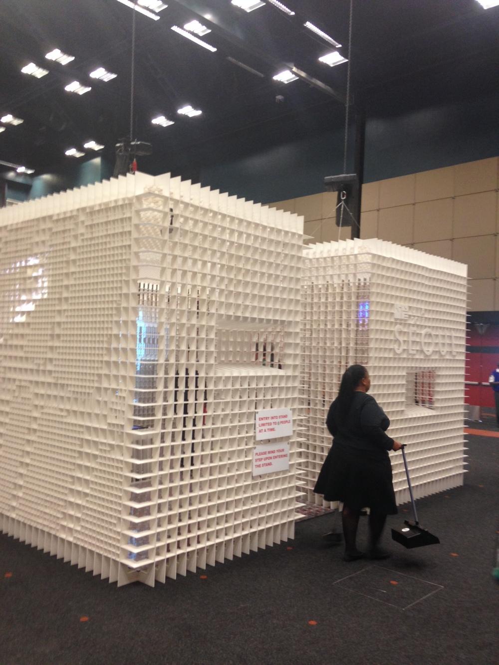 2017 UIA Dünya Mimarlık Kongresi'ne ev sahipliği yapacak olan Seul'un standı