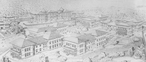 Mimar Kemalettin, Gureba Hastanesi, İstanbul 1914