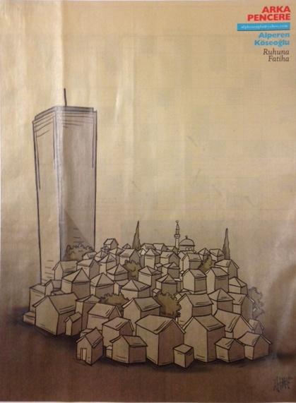 çapsız Siyasetin Tokiyi Keşfi Ve Mimari Eleştiri Olarak Karikatür