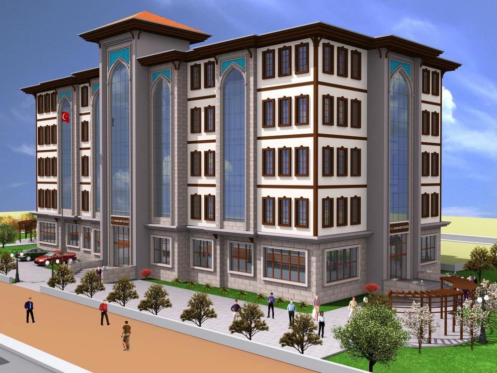 Adana Müftülüğü için hazırlanan proje görseli
