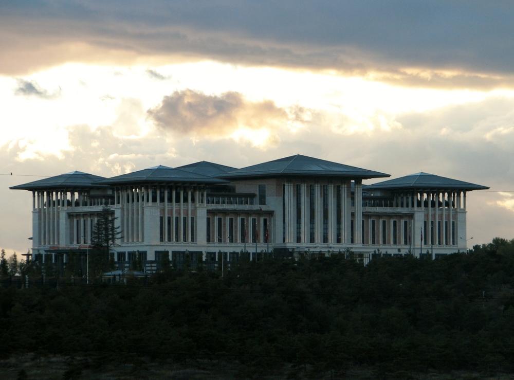 Cumhurbaşkanlığı yerleşkesi, ana bina