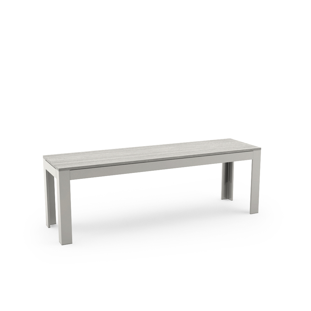 IKEA FALSTER BENCH, GRAY