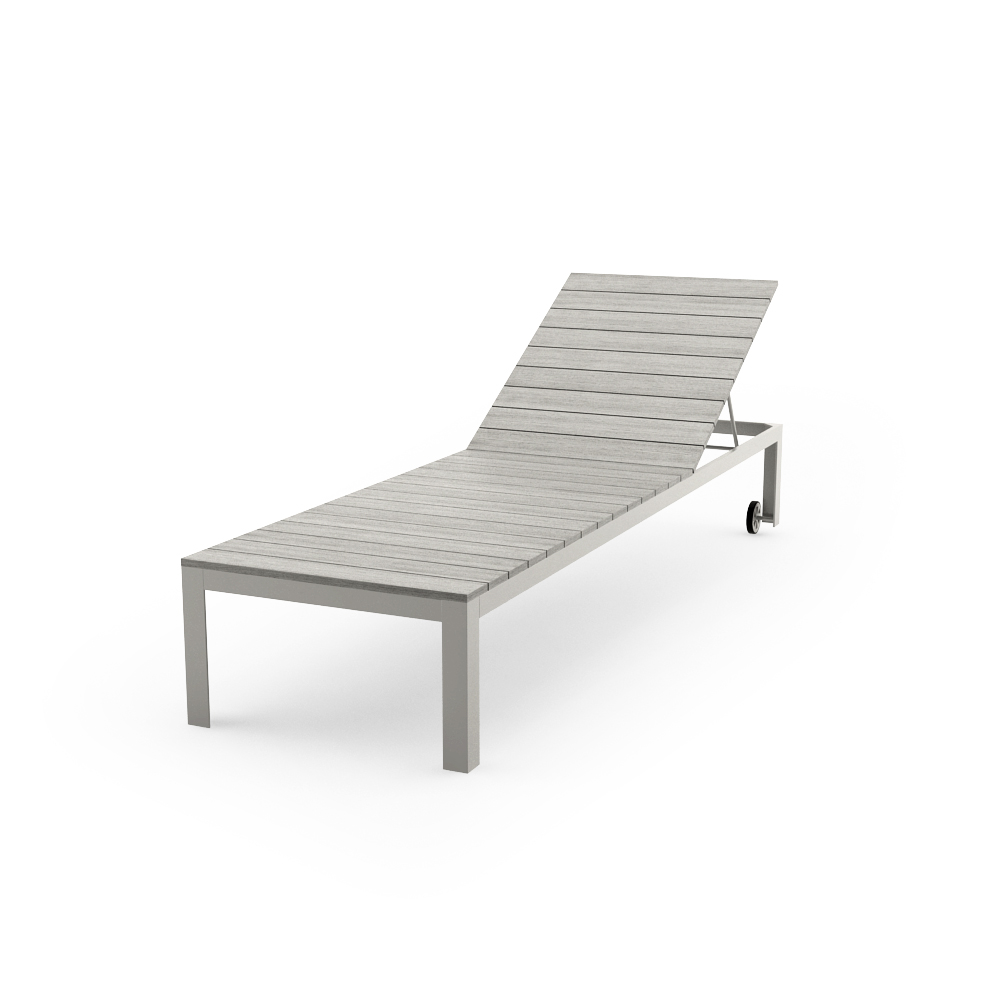 IKEA FALSTER CHAISE, GRAY POSE 1
