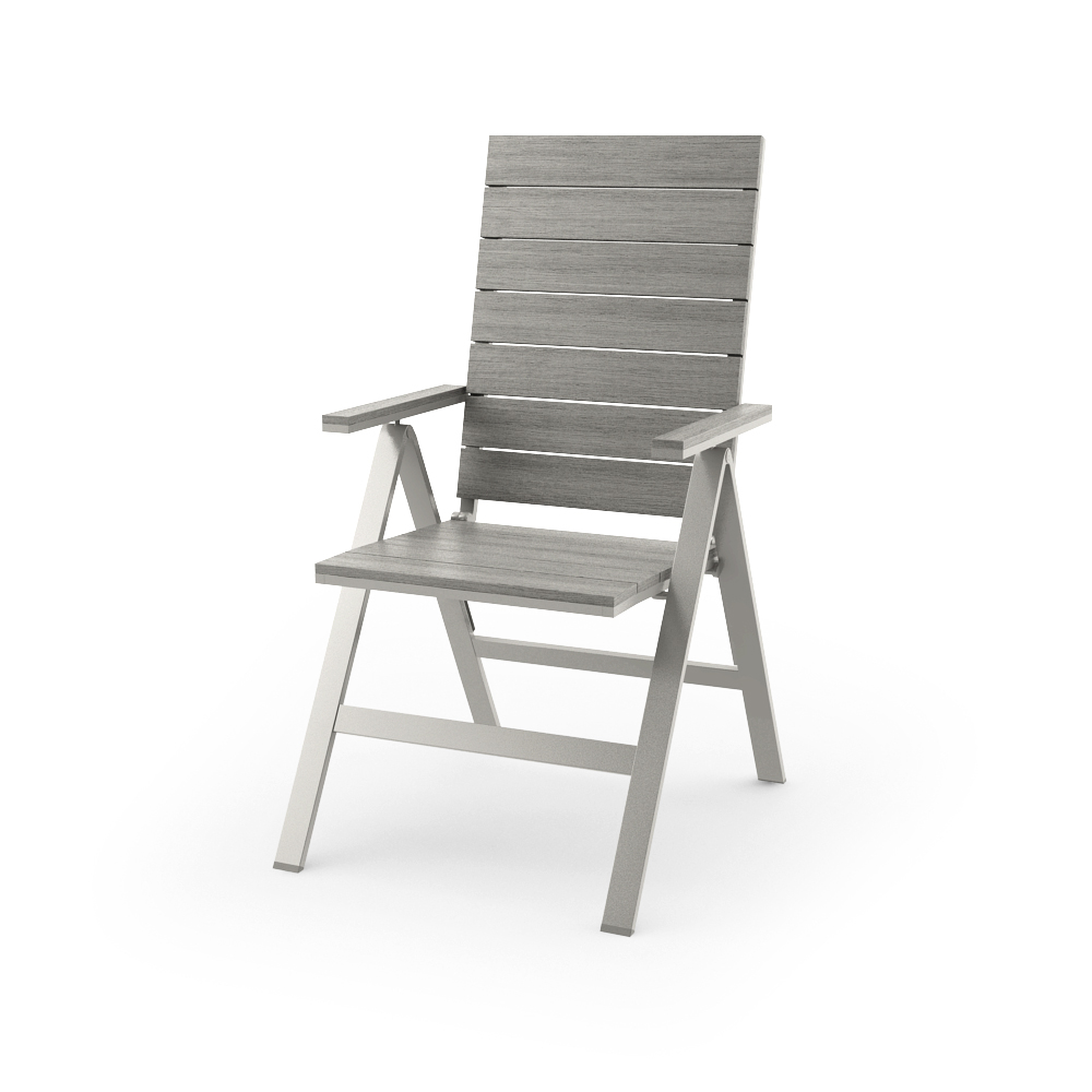 IKEA FALSTER RECLINING CHAIR, GRAY