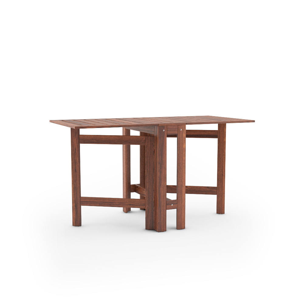IKEA APPLARO GATELEG TABLE FULLY UNFOLDED