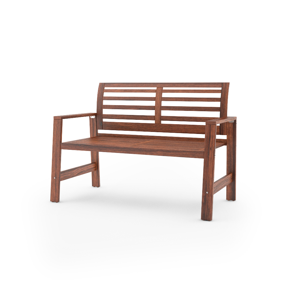 IKEA APPLARO BENCH WITH BACKREST