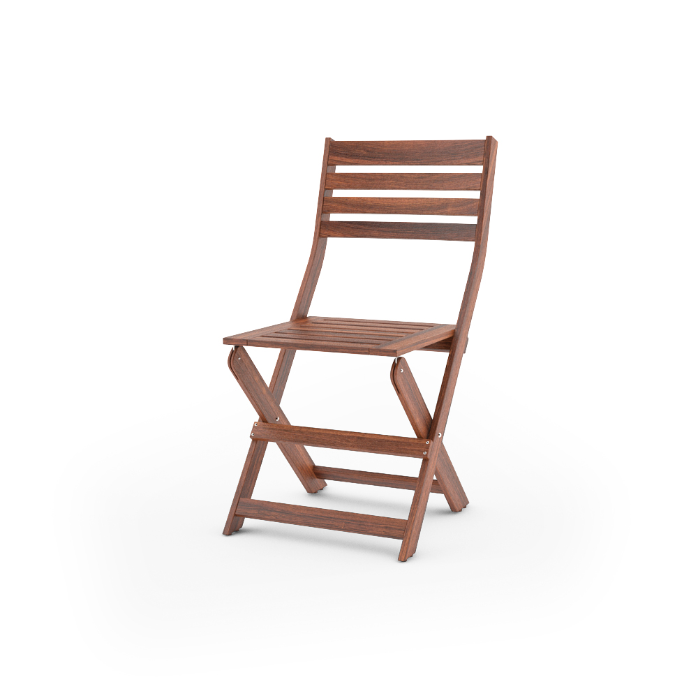 IKEA APPLARO FOLDING CHAIR UNFOLDED