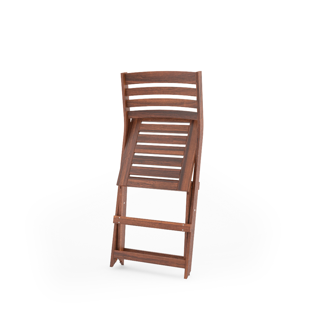 IKEA APPLARO FOLDING CHAIR FOLDED