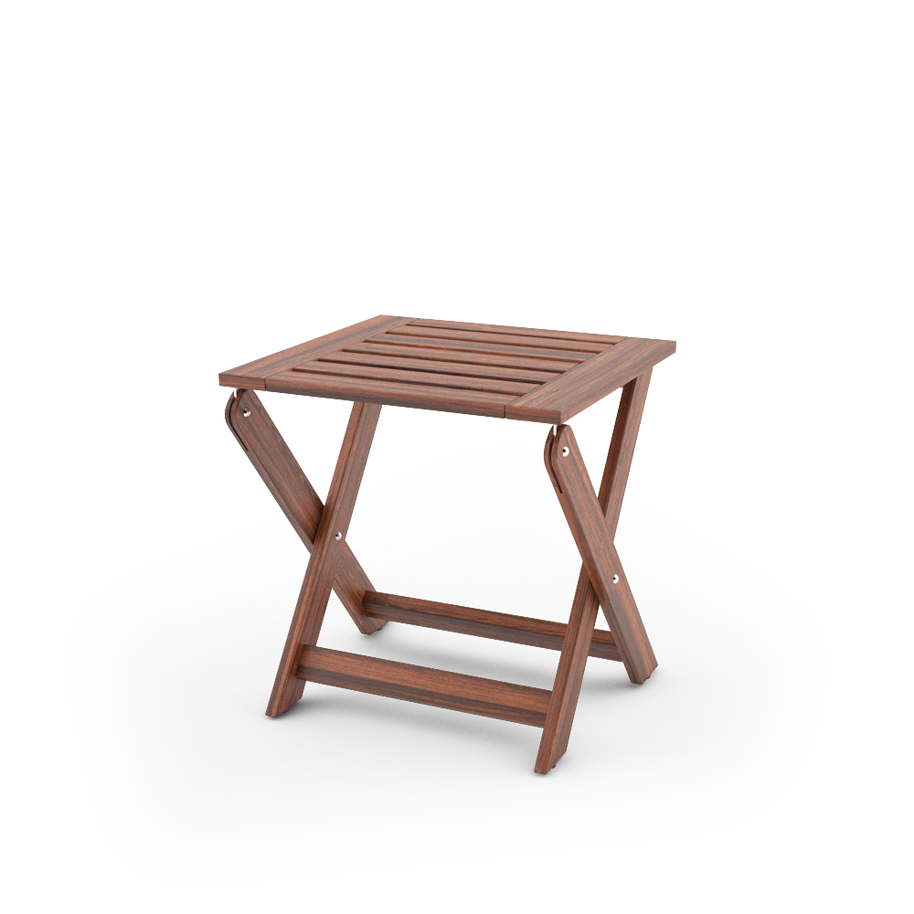 Free 3d models ikea applaro outdoor furniture series for Ikea folding stool