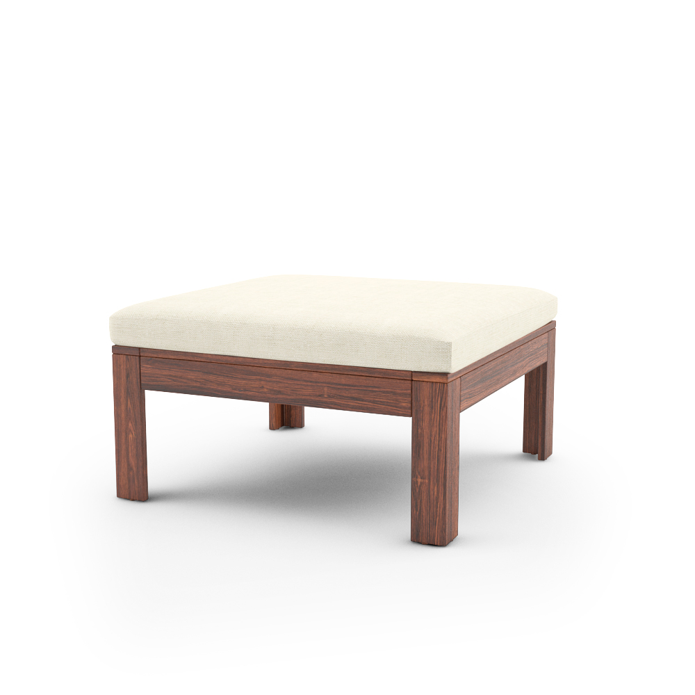 IKEA APPLARO TABLE STOOL SECTION WITH CUSHION