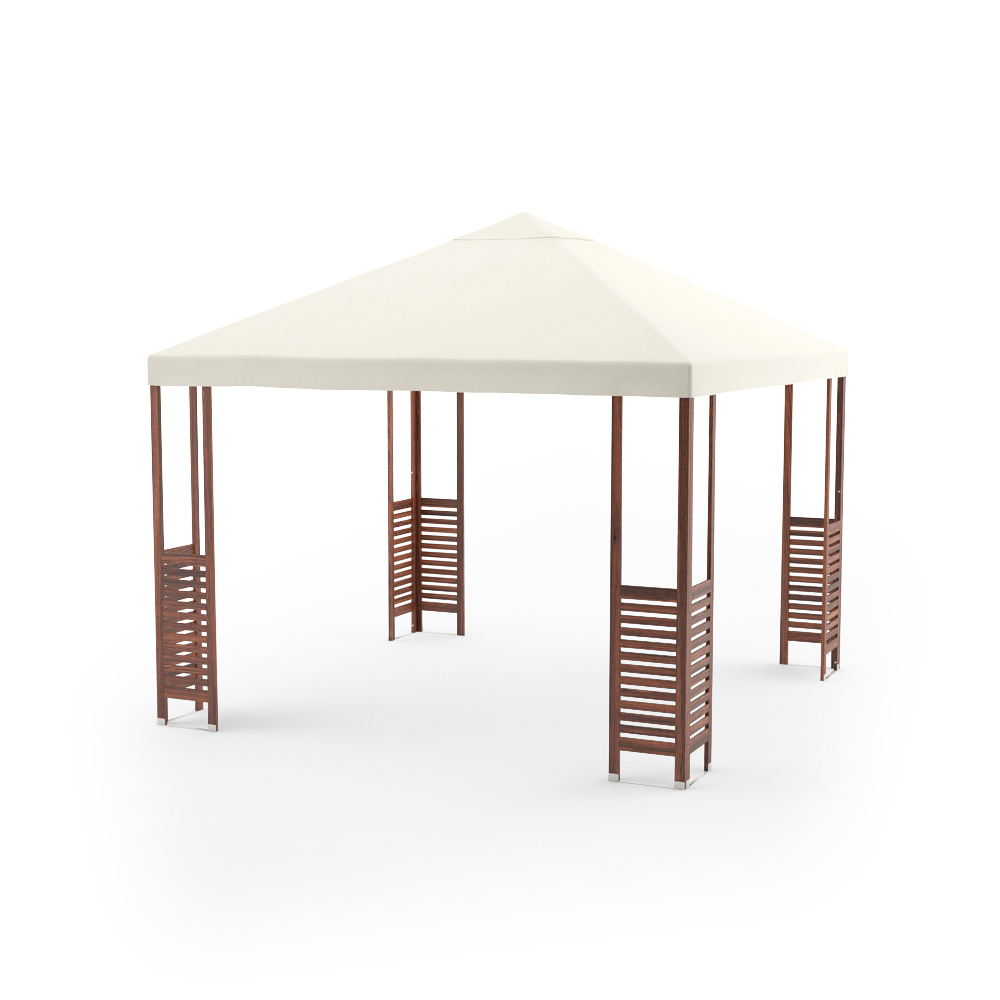 free 3d models ikea applaro outdoor furniture series special bonus patio gazebo included. Black Bedroom Furniture Sets. Home Design Ideas