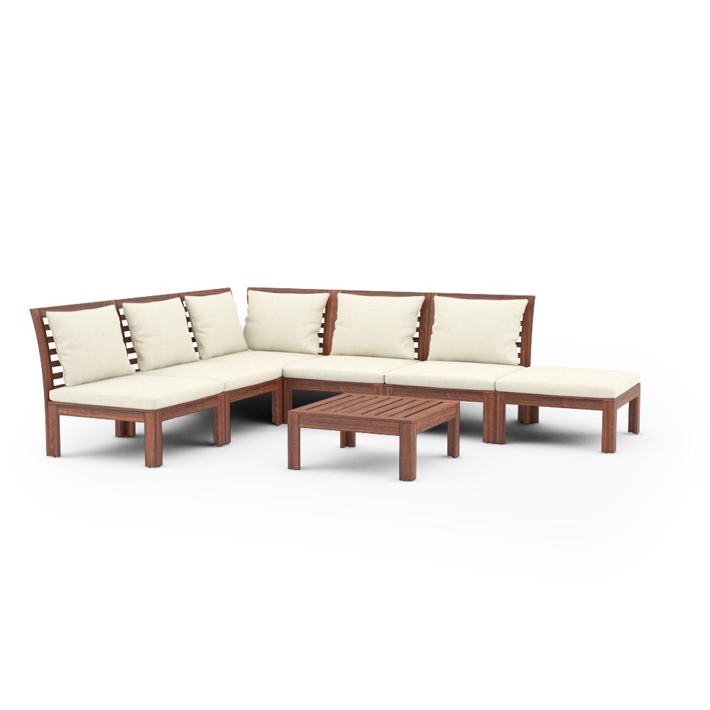 3d models ikea applaro outdoor furniture series special bonus patio