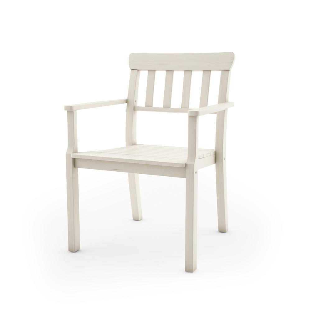 IKEA ANGSO ARMCHAIR, WHITE