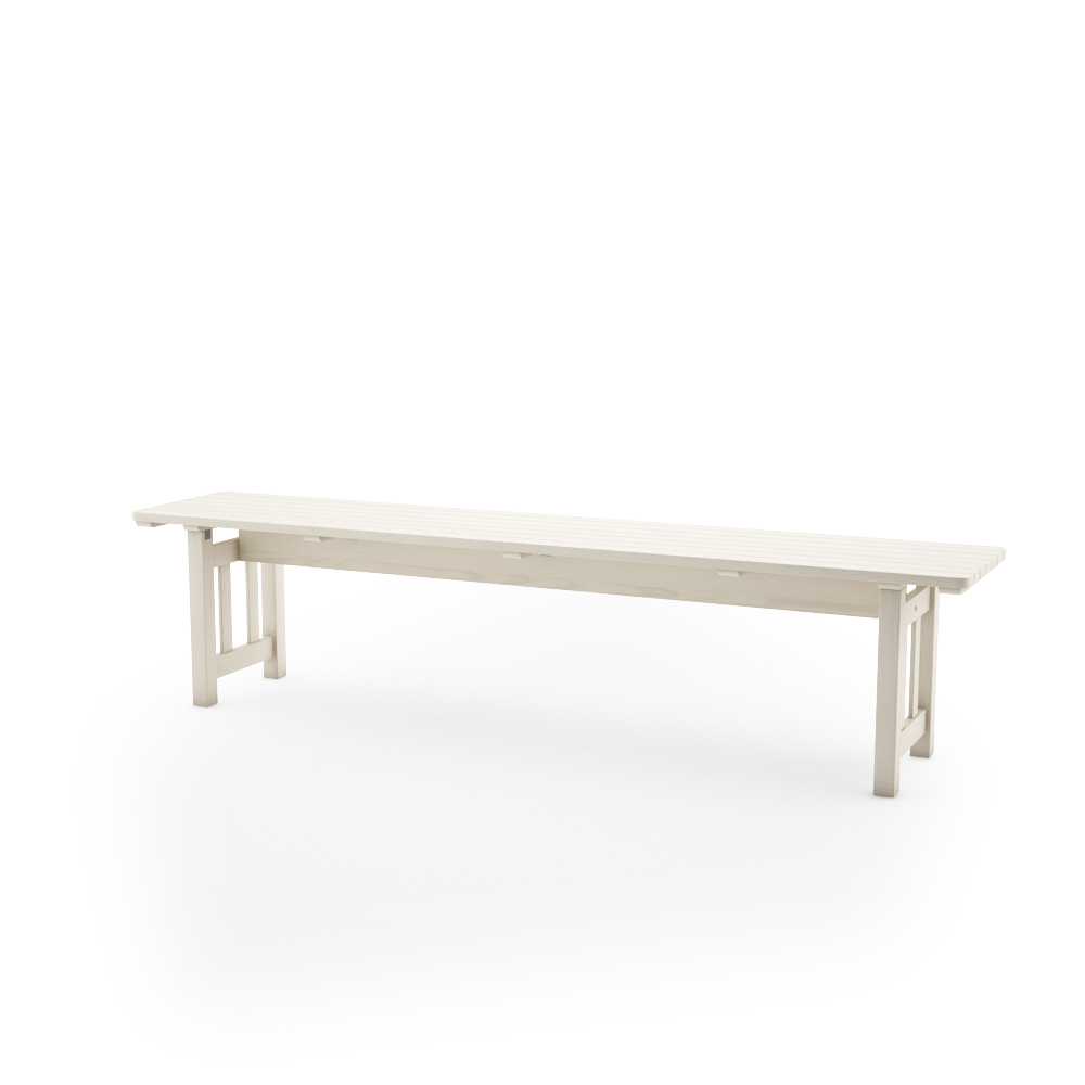 IKEA ANGSO BENCH, WHITE