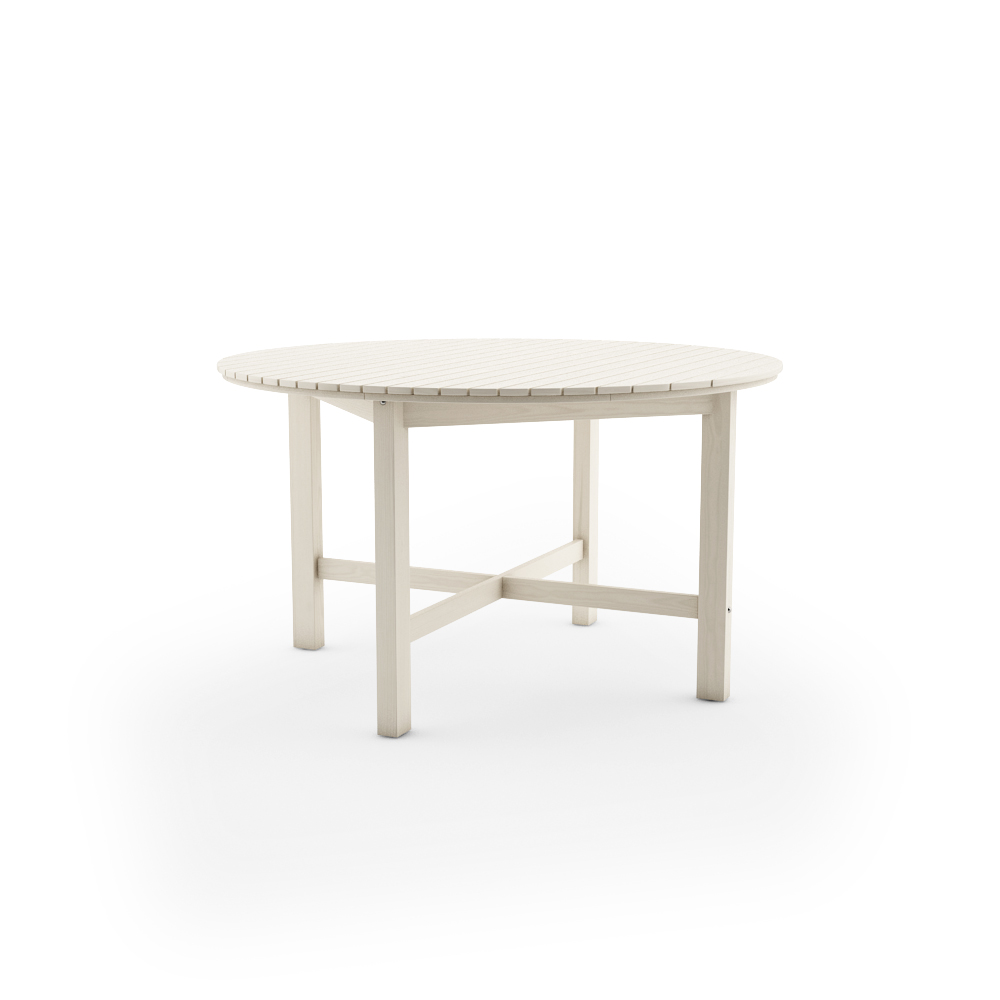 IKEA ANGSO ROUND TABLE, WHITE