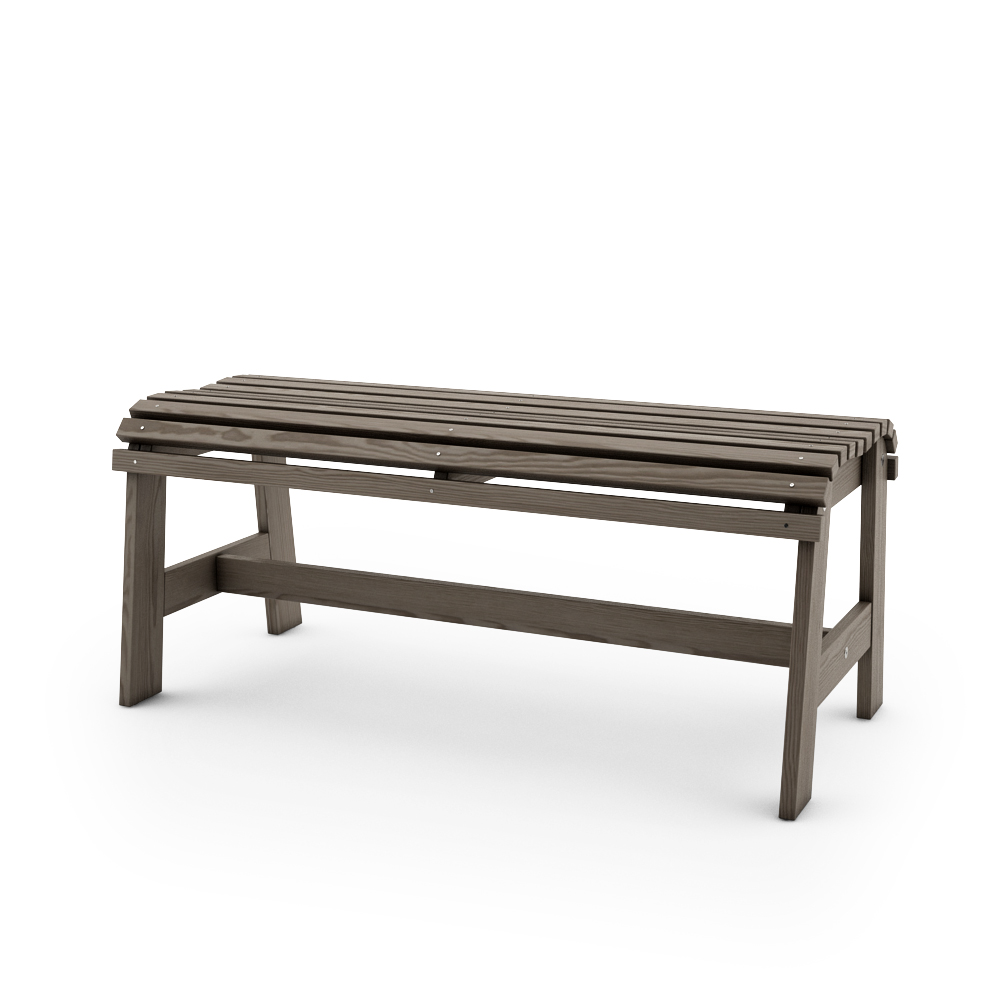 IKEA SUNDERO BENCH, GREY