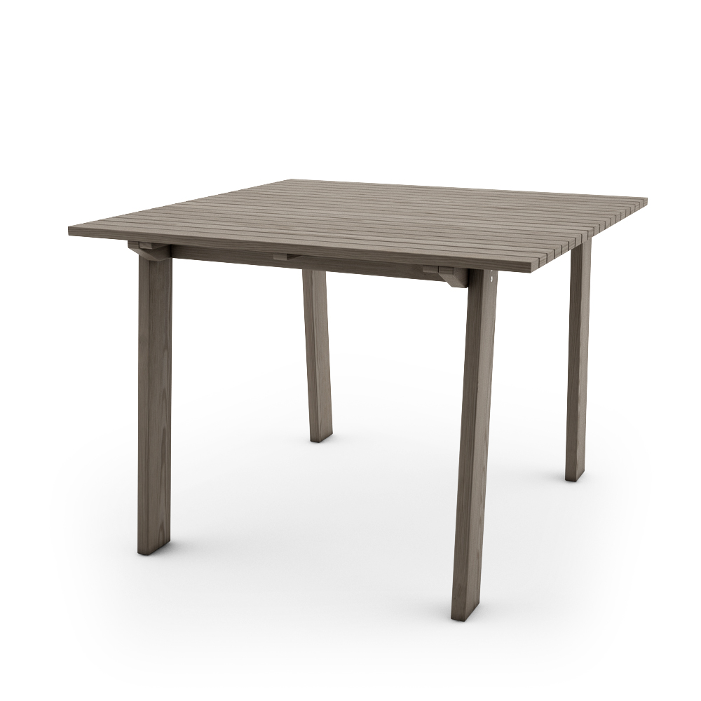 IKEA SUNDERO TABLE 100x100, GREY