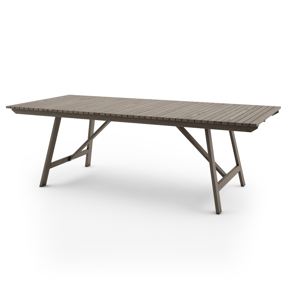 IKEA SUNDERO TABLE 220x100, GREY