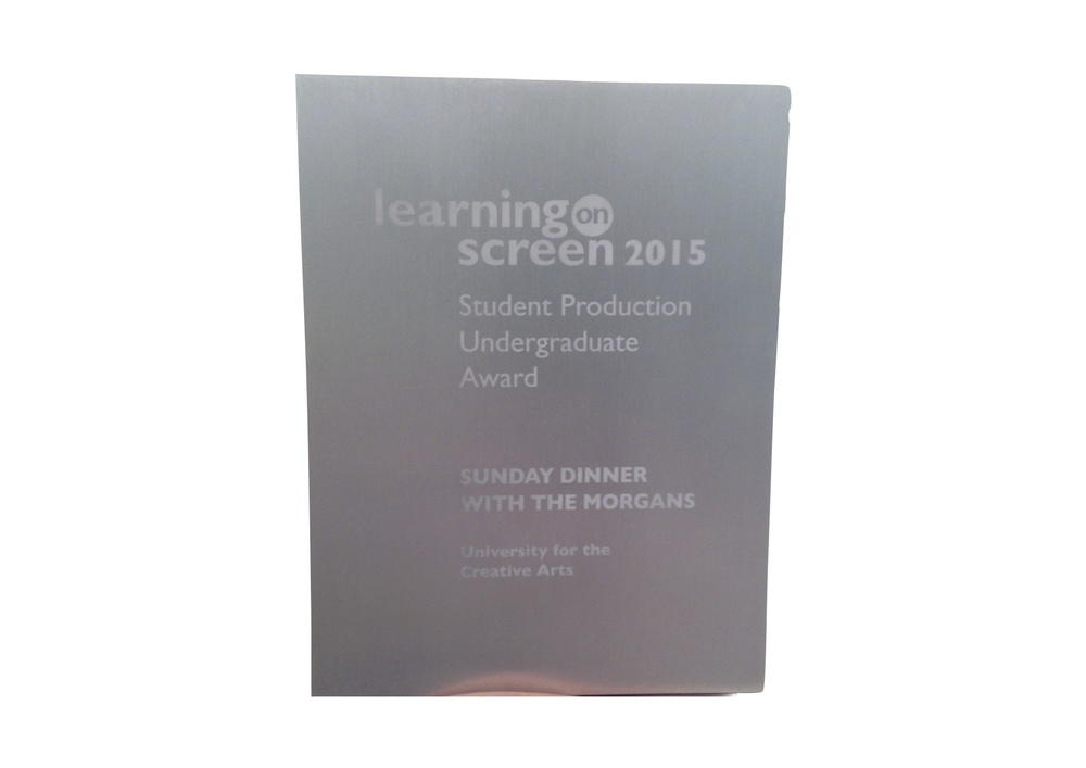 Learning on Screen - Undergrad Production Award - April 2015
