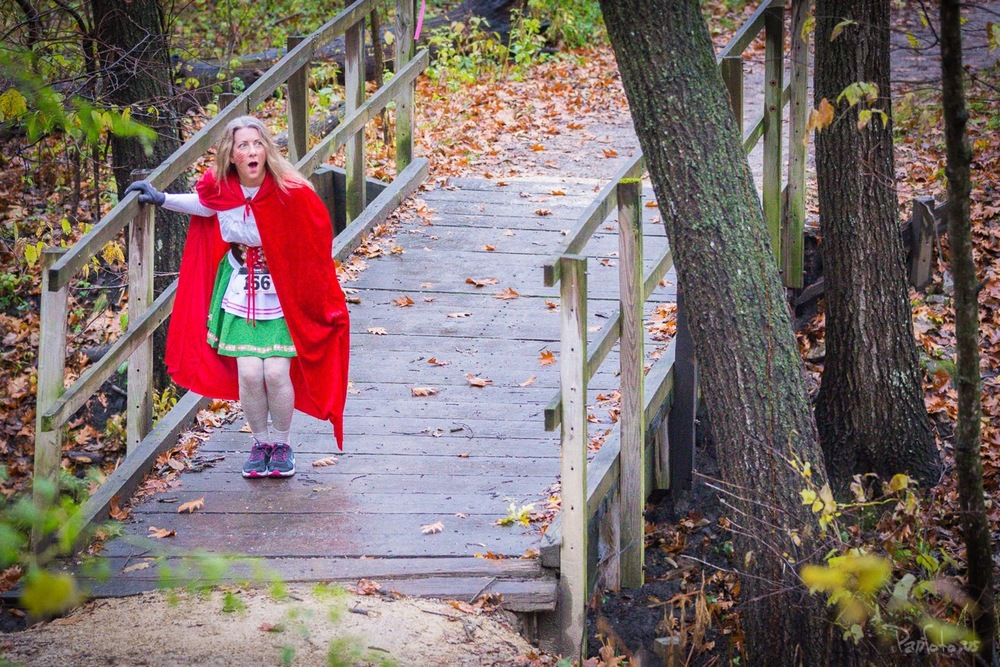 Our best Red Riding Hood (one of two who tied), Kimberly Graham (from 2015)