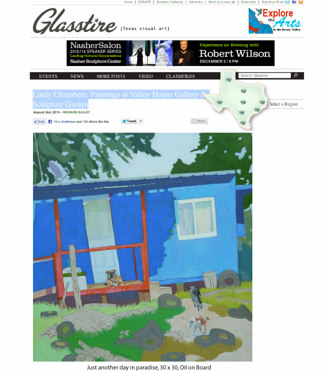 Glasstire review by Richard Bailey