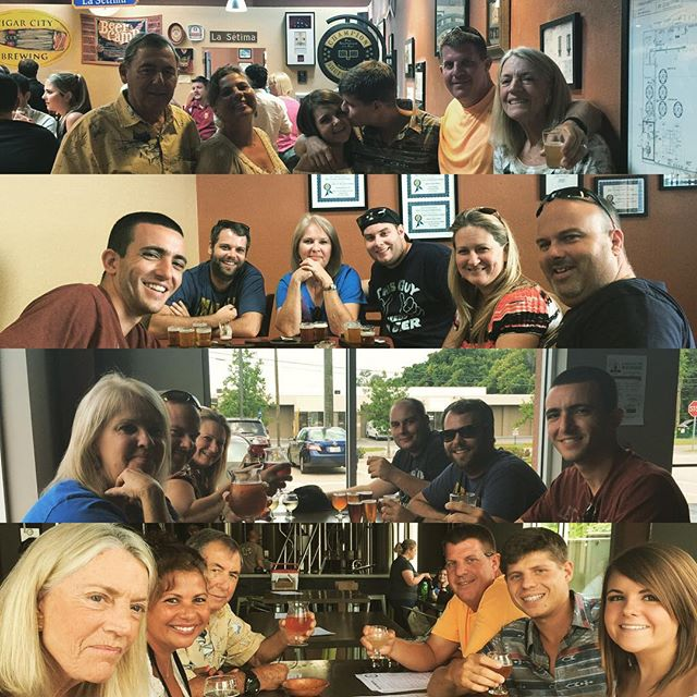 Good times, good #craftbeer, and good people. All the ingredients for a perfect #tampabrewtour #bayshorelimo #BeerLimo #drinklikealocal