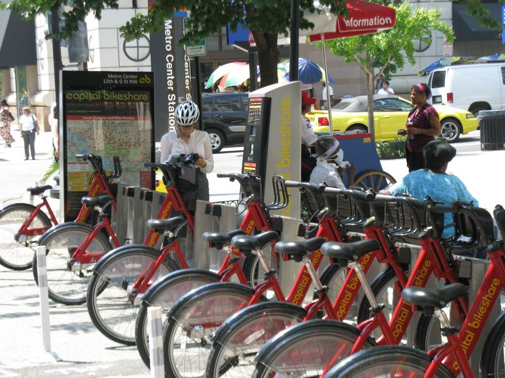 Bike Sharing in Washington, D.C. courtesy of Lee Sobel