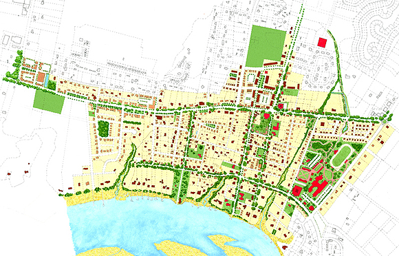 Old Town Master Plan by Dover Kohl & Partners