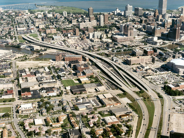 This freeway in Milwaukee is now gone because of leadership