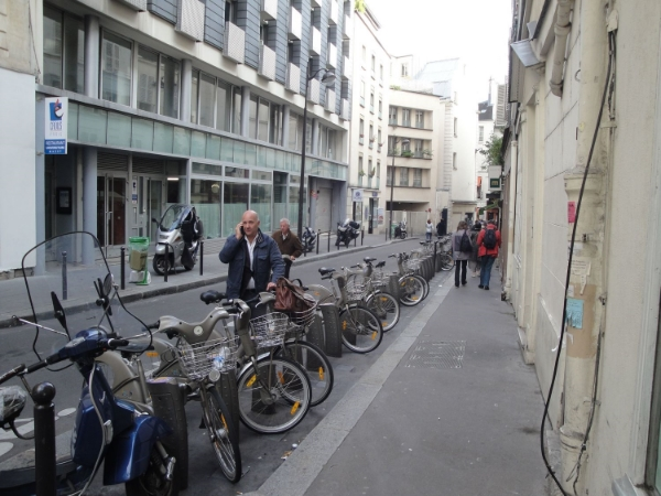 The Velib in Paris
