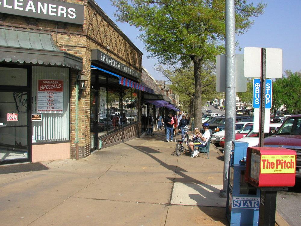 sidewalk- west end of 63rd.JPG